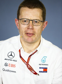 Andy Cowell, Managing Director, HPP, Mercedes AMG, in the Friday press conference