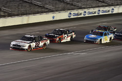 Ryan Blaney, Team Penske Ford, Austin Dillon, Richard Childress Racing Chevrolet, Daniel Hemric, Richard Childress Racing Chevrolet