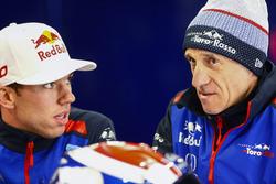 Pierre Gasly, Toro Rosso, en Franz Tost, Teambaas, Toro Rosso