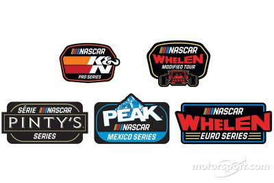 Anuncio logos de NASCAR