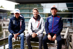 Esteban Ocon, Force India, Romain Grosjean, Haas F1 Team, Pierre Gasly, Toro Rosso