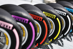 La gamma completa di pneumatici Pirelli da asciutto