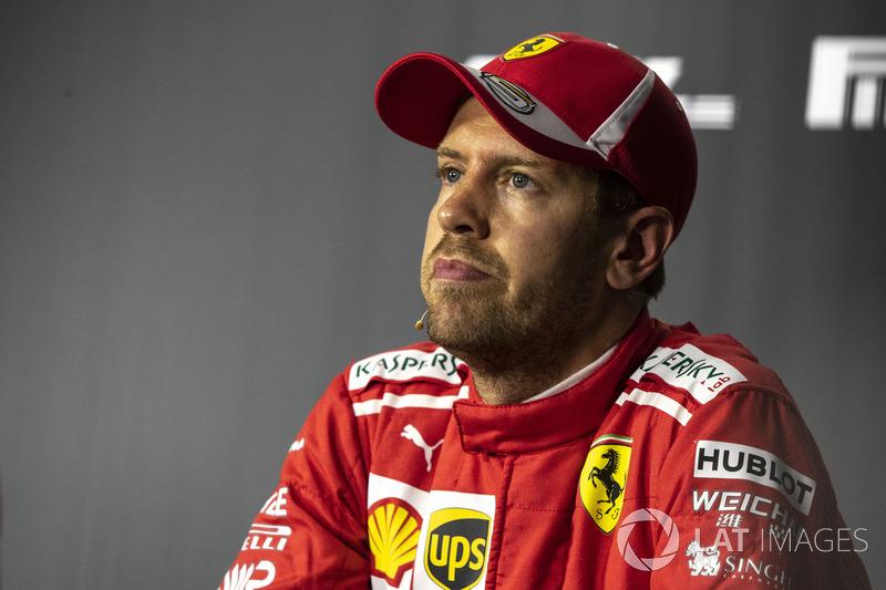Sebastian Vettel, Ferrari Basın Toplantısı
