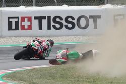 Aleix Espargaro, Aprilia Racing Team Gresini crash