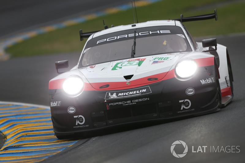 36: #93 Porsche GT Team Porsche 911 RSR: Patrick Pilet, Nick Tandy, Earl Bamber, Dirk Werner, 3'49.589