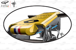 Renault R.S.18 S duct