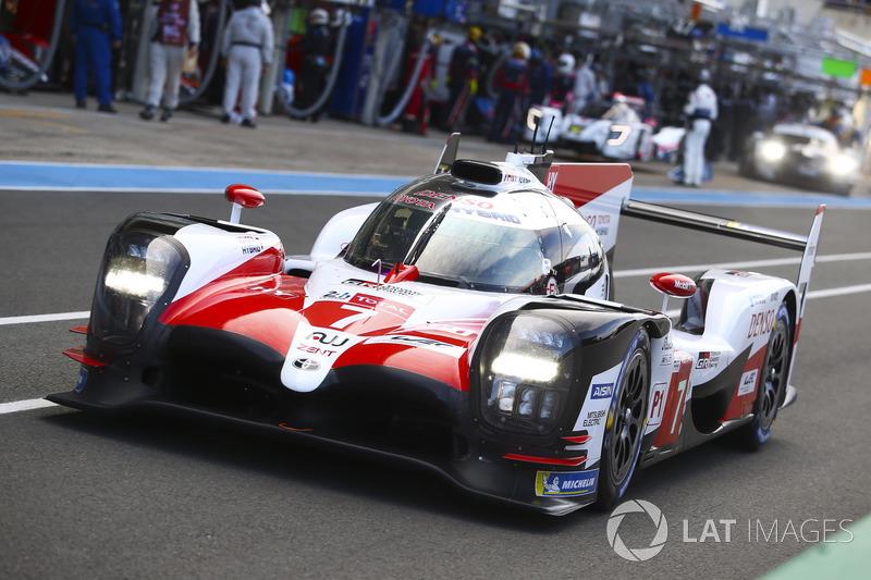 #7 Toyota Gazoo Racing Toyota TS050: Mike Conway, Kamui Kobayashi, Jose Maria Lopez, Fernando Alonso, Anthony Davidson