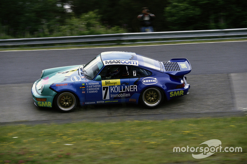 1993: Frank Katthöfer, Antionio de Azevedo, Franz Konrad, Örnulf Wirdheim (Porsche 911 Carrera)