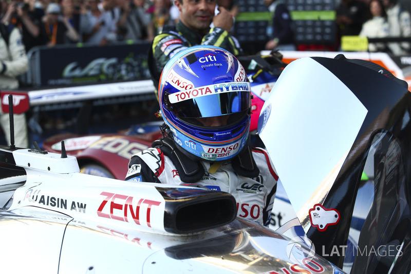 Yarış galibi Fernando Alonso, Toyota Gazoo Racing
