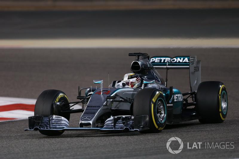 2015: Lewis Hamilton, Mercedes F1 W06 Hybrid