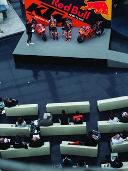 Pol Espargaro, Red Bull KTM Factory Racing, Bradley Smith, Red Bull KTM Factory Racing with Alex Hof