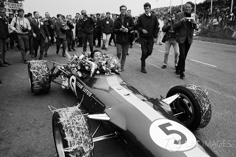 Futamgyőztes Jim Clark, Team Lotus 49