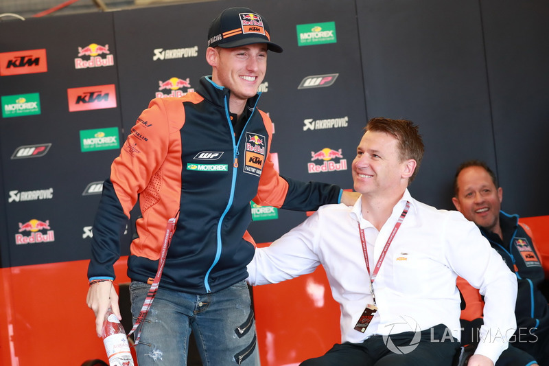 Pol Espargaro, Red Bull KTM Factory Racing, Pit Beirer, KTM Head of Motorsport