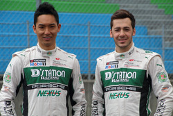 #7 D'station Porscheの藤井誠暢とスヴェン・ミューラー