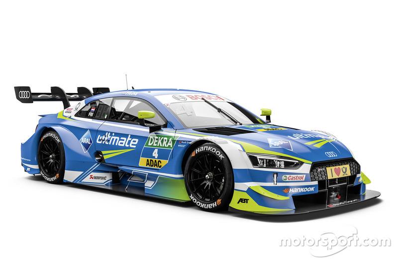 Робін Фрейнс, Audi Sport Team Abt Sportsline Audi RS5 DTM