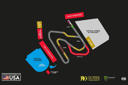 Траса Circuit of the Americas для World RX