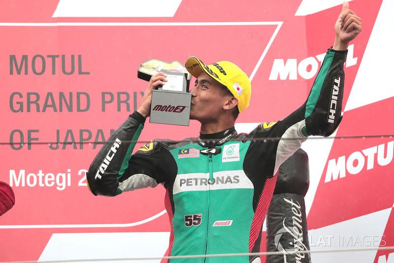 Third place Hafizh Syahrin, Petronas Raceline Malaysia