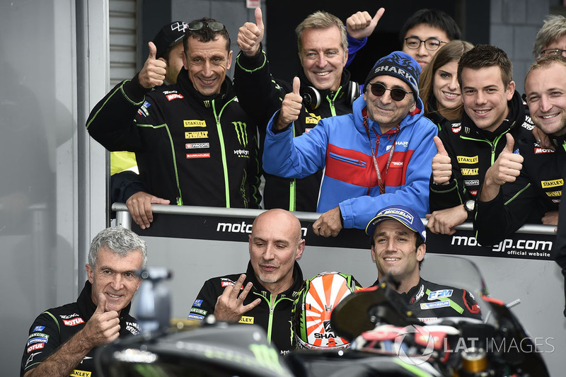 Tercero, Johann Zarco, Monster Yamaha Tech 3