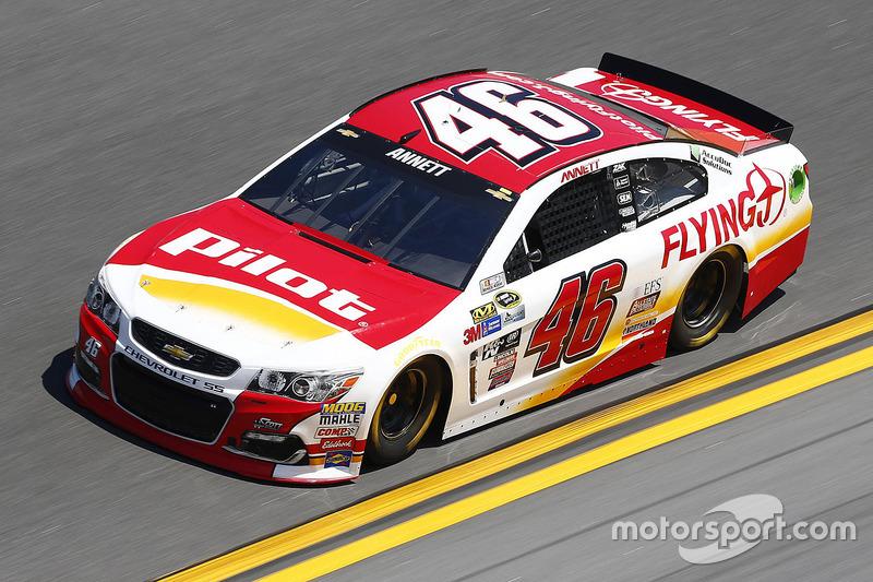 #46 Michael Annett (HScott-Chevrolet)