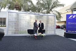 المؤتمر الصحفي لجائزة البحرين الكبرى