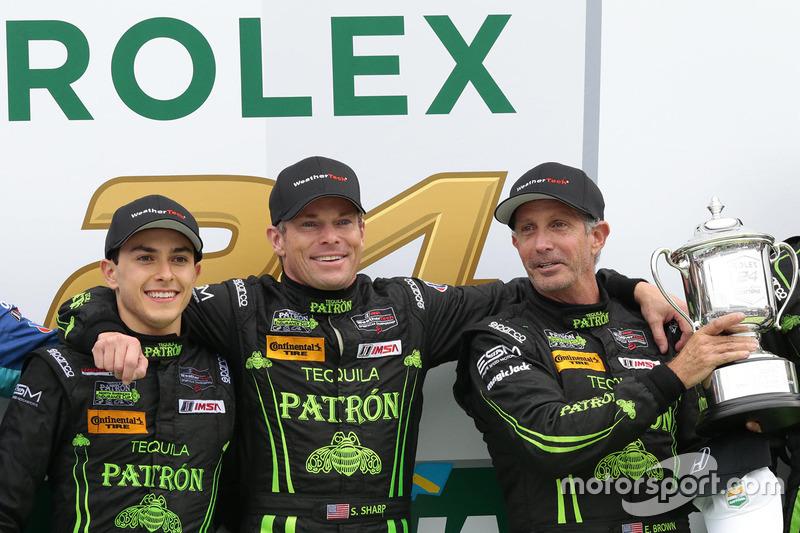 Scott Sharp, Ed Brown e Pipo Derani