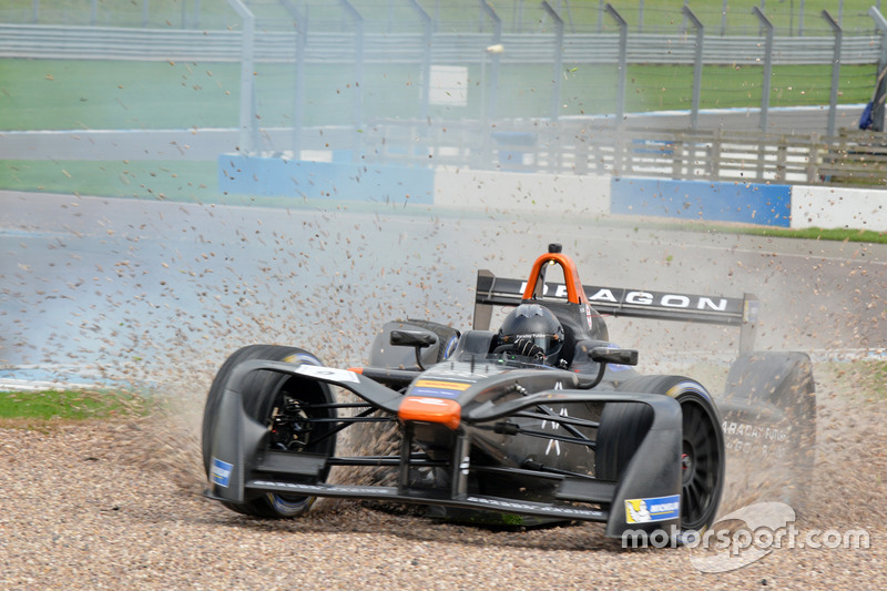 Loic Duval, Dragon Racing in difficoltà