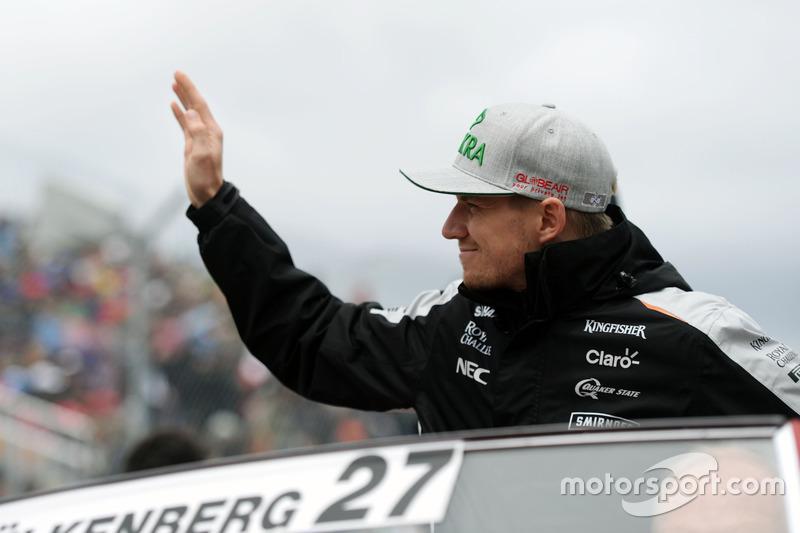Ніко Хюлькенберг, Sahara Force India F1 на параді пілотів
