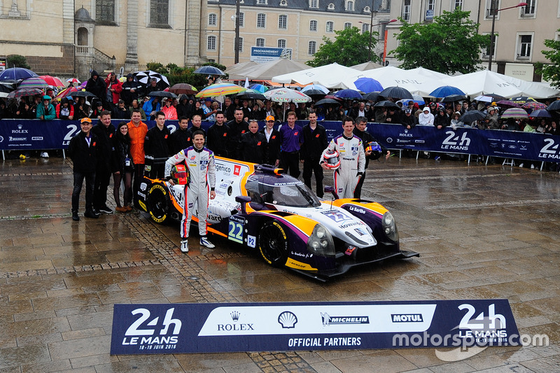 #22 SO24! By Lombard Racing Ligier JS P2 Judd: Вансант Капіллер, Олів'є Ломбар, Джонатан Коулман
