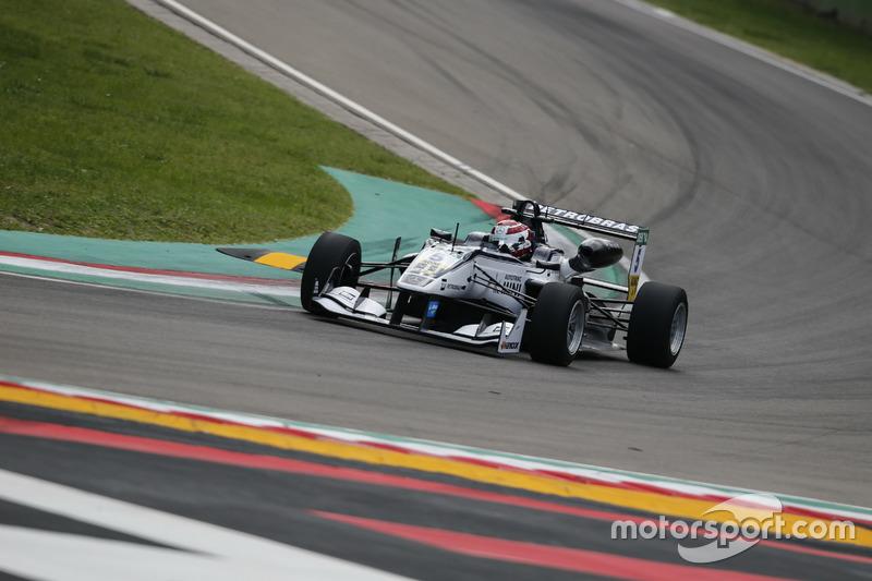 Pedro Piquet, Van Amersfoort Racing Dallara F312, Mercedes-Benz