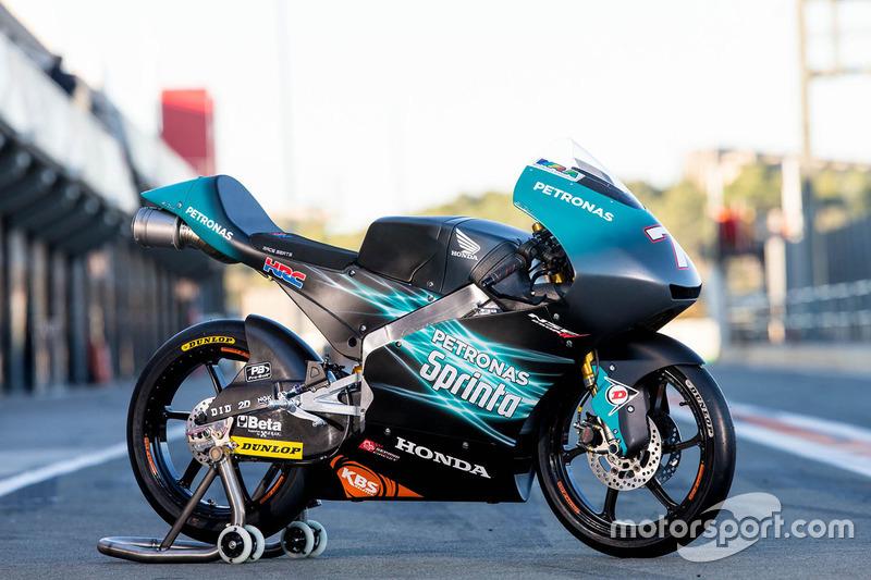 Moto de Adam Norrodin, Petronas Sprinta Racing