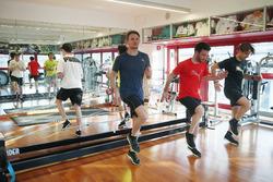 Joel Eriksson, Bruno Spengler, Marco Wittmann, Philipp Eng and Augusto Farfus