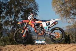 La moto MX2 di: Jorge Prado, KTM Factory Racing