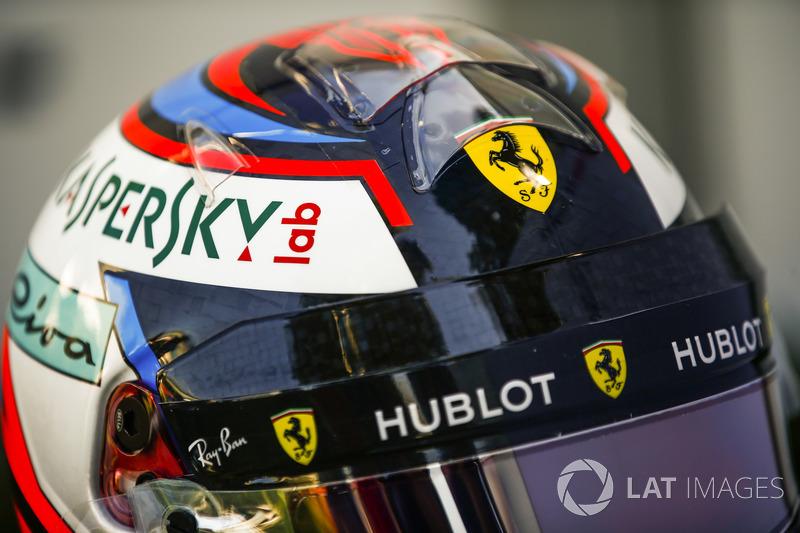 Kimi Raikkonen'in kaskı, Ferrari