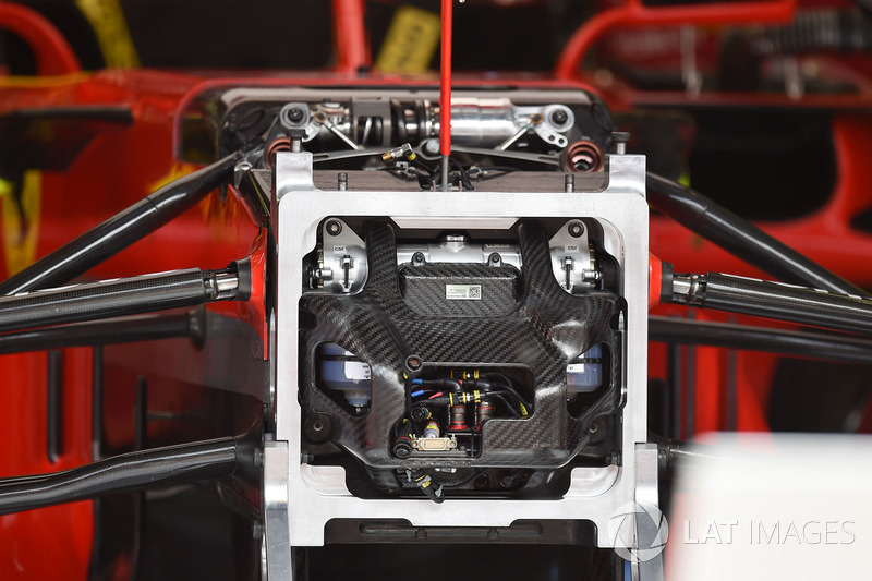 Ferrari SF71H şasi detay