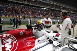 Marcus Ericsson, Sauber, sur la grille