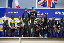 Podium: Race winner #15 RLR Msport Ligier JS P3 - Nissan: John Farano, Job Van Uitert, Robert Garofall, second place #17 Ultimate Ligier JS P3 - Nissan: Matthieu Lahaye, Jean Baptiste Lahaye, François Heriau, third place #11 Eurointernational Ligier JS P3 - Nissan: Giorgio Mondini, Kay Van Berlo