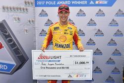 Polesitter: oey Logano, Team Penske Ford