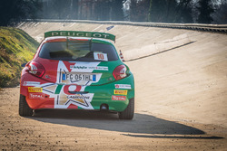 La vettura di Paolo Andreucci, Anna Andreussi, Peugeot 208 T16