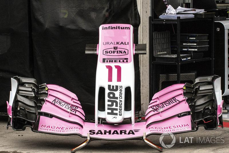 Переднє антикрило Force India VJM11