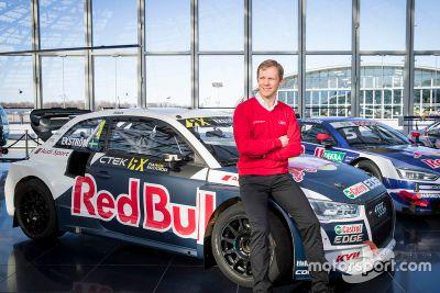 Mattias Ekström, anuncio