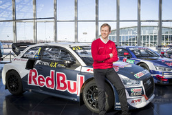 Mattias Ekström with the EKS Audi S1 quattro WRX