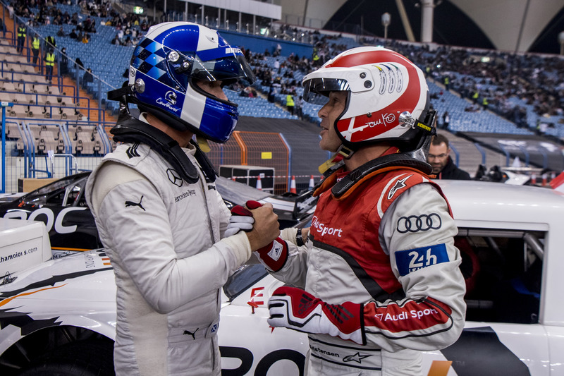 David Coulthard y Tom Kristensen