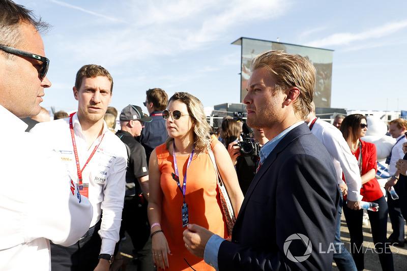 Nico Rosberg, Formula 1 world champion, Formula E investor