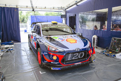 Hyundai Motorsport team área