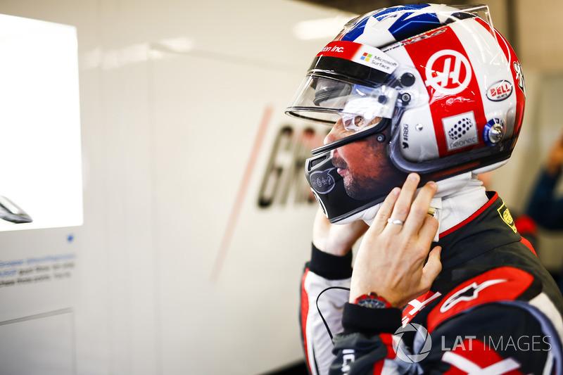 États-Unis - Romain Grosjean