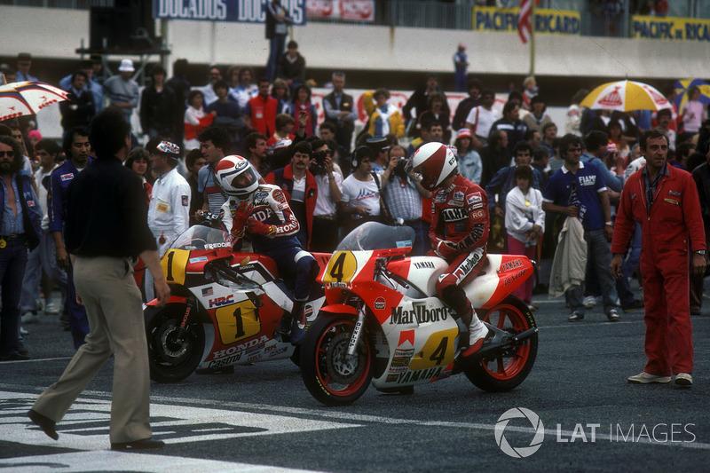 1984 - Едді Лоусон, Yamaha