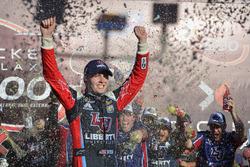 William Byron, JR Motorsports Chevrolet celebrates in victory lane