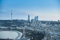 Baku aerial view