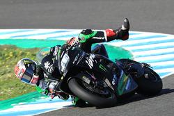 Jonathan Rea, Kawasaki Racing crash