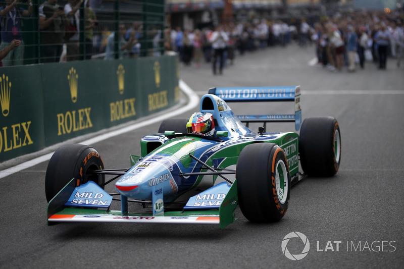 10. Mick Schumacher na Benetton B194-5